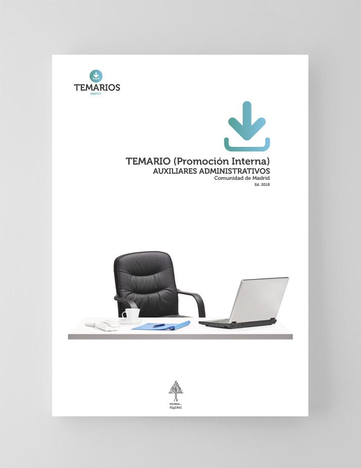 Temario Auxiliares Administrativos Promoción Interna - Comunidad Madrid - Temarios PDF