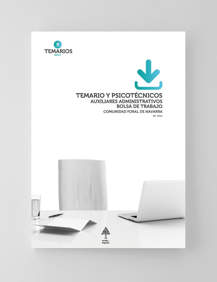 Temario y Psicotécnicos Auxiliares Administrativos Bolsa Trabajo Navarra - Temarios PDF