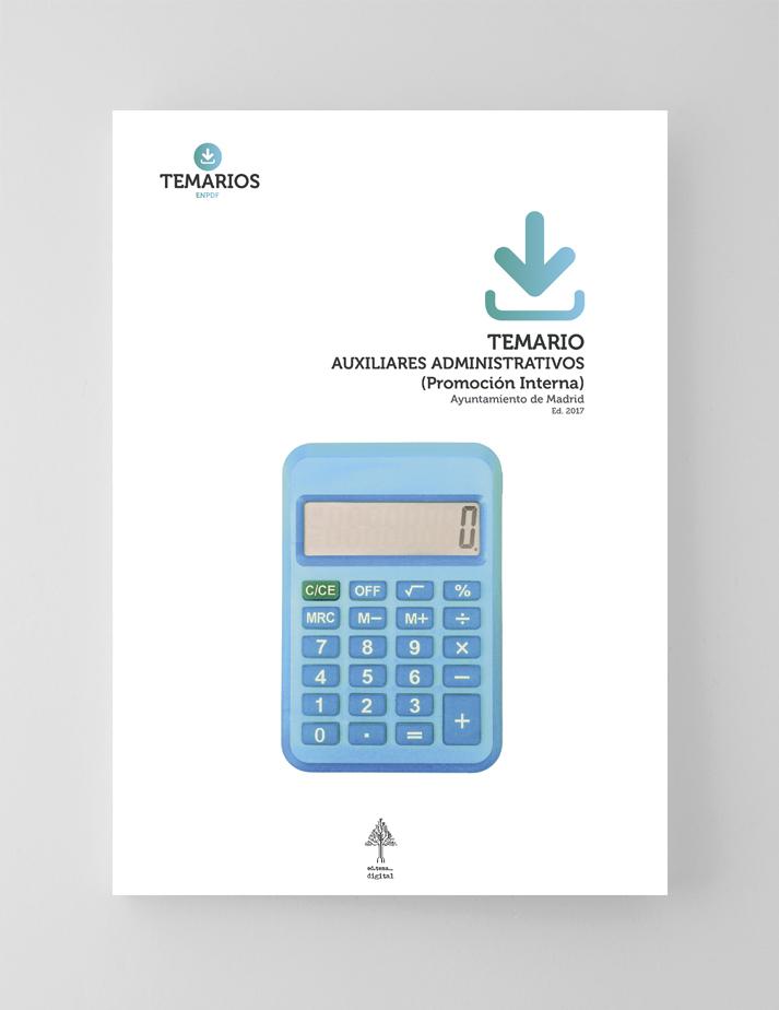 Temario Auxiliares Administrativos Promoción Interna - Ayuntamiento Madrid - Temarios PDF