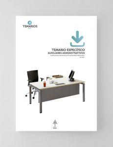 Temario Específico Auxiliares Administrativos - Instituciones Sanitarias Generalitar Valenciana - Temarios PDF