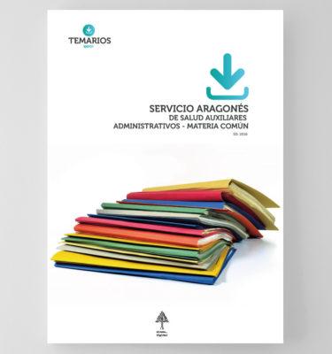 Auxiliares Administrativos Servicio Aragonés de Salud - Materia Común - Temarios PDF