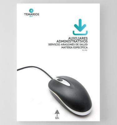Auxiliares Administrativos Servicio Aragonés de Salud - Materia Específica - Temarios PDF