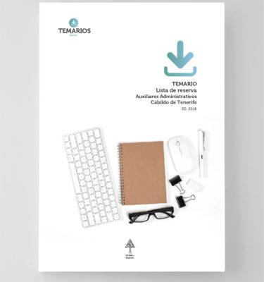 Temario Lista de reserva Auxiliares Administrativos - Cabildo Tenerife - Temarios PDF